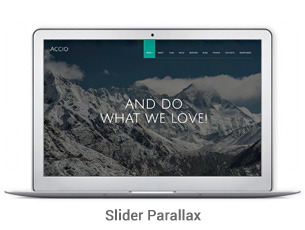 Accio Premium Responsive WordPress Theme