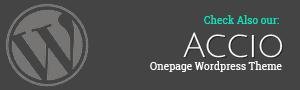 Accio Responsive Parallax One Page Joomla Template